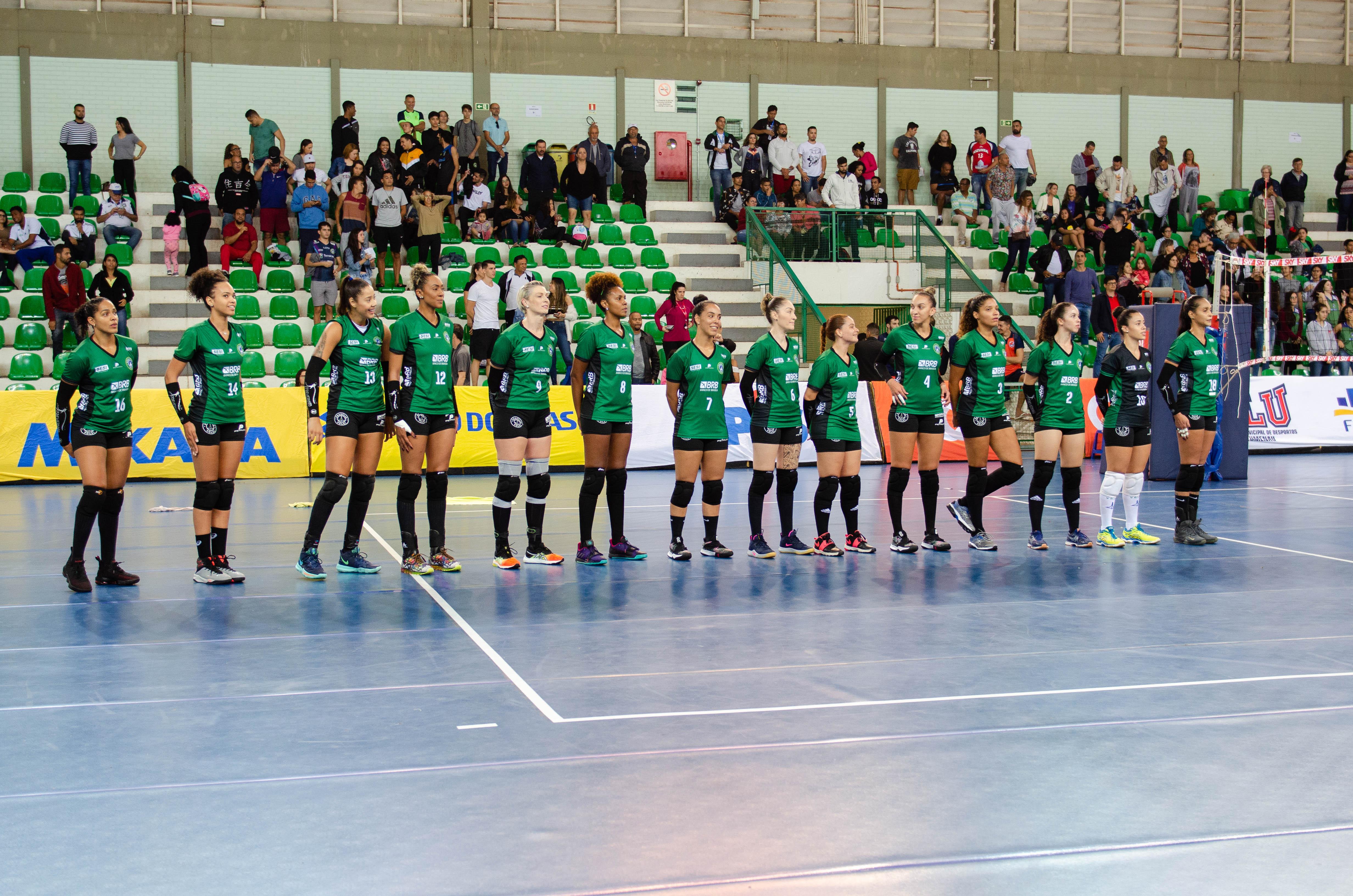 Superliga B – Brasília Vôlei X BLUEVÔLEI